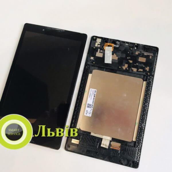 Модуль для планшета Lenovo TAB 2 A8-50 A8-50L A8-50F A8-50LC Black з рамою ORIGINAL