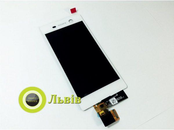 Модуль (сенсор+дисплей) Sony Xperia M5 E5603 E5606 E5633 E5653 E5663 White ORIGINAL