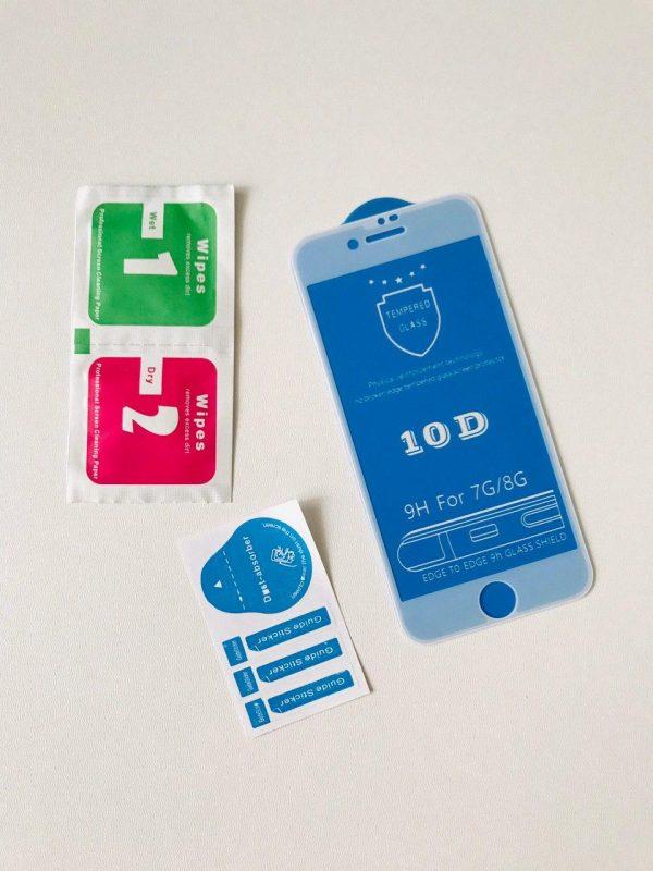 Захисне скло для Apple iPhone 7_8 10D White